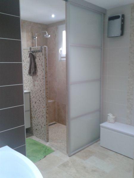 salle de bains complte avec sauna avantaprs - Salle De Bain Avec Sauna
